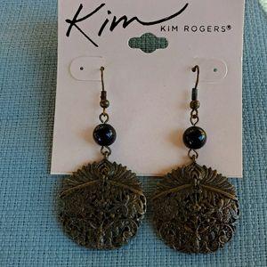 New Kim Rogers Vintage Inspired Dangle Earrings.